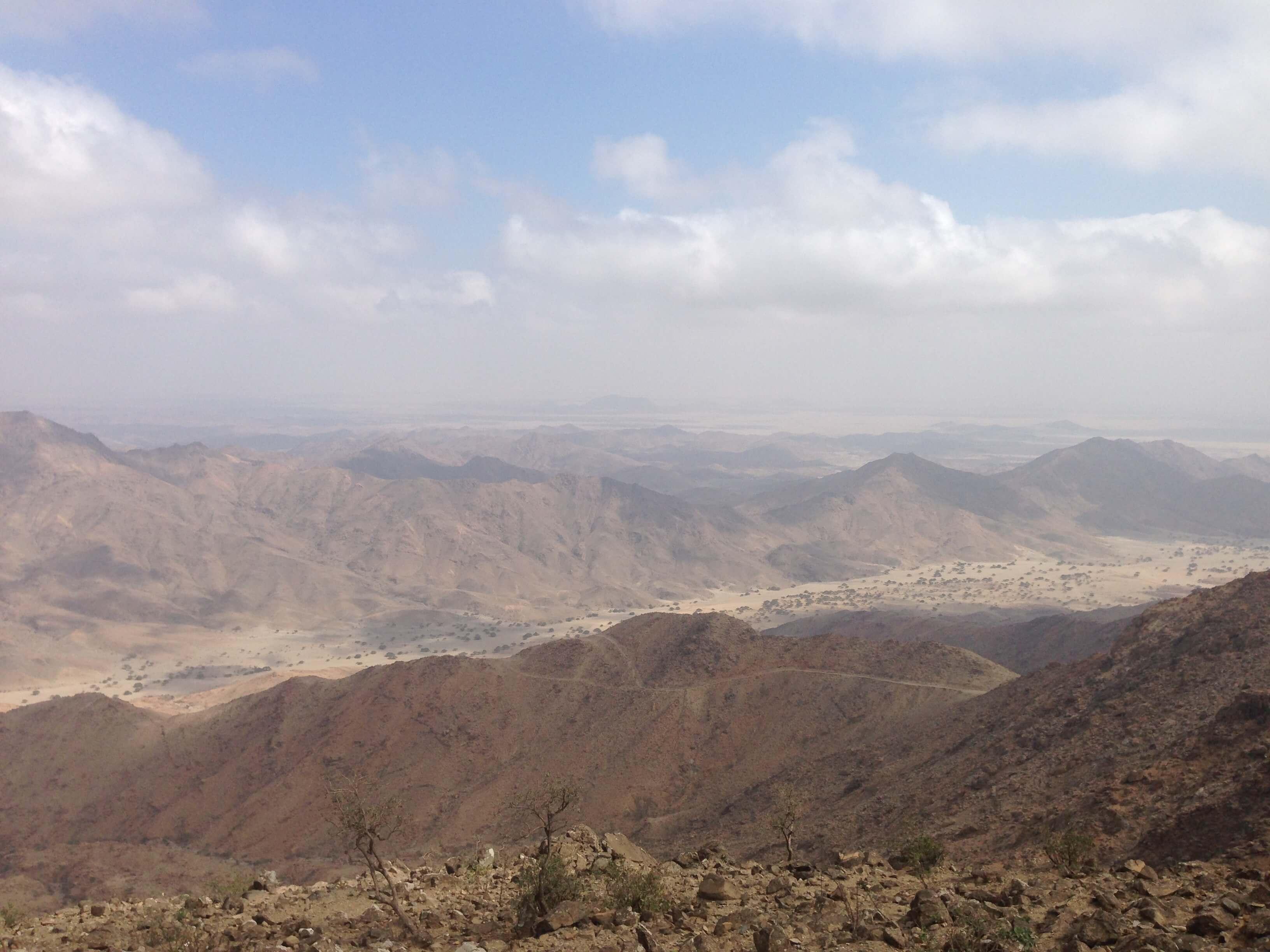 Blick vom Alsit Mountain Peak